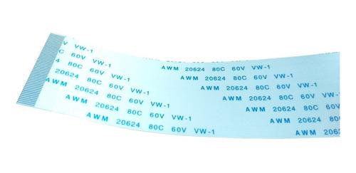 Imagen 1 de 2 de Cable Plano Flex Ffc 50 Pin (2.5cm X 20cm)