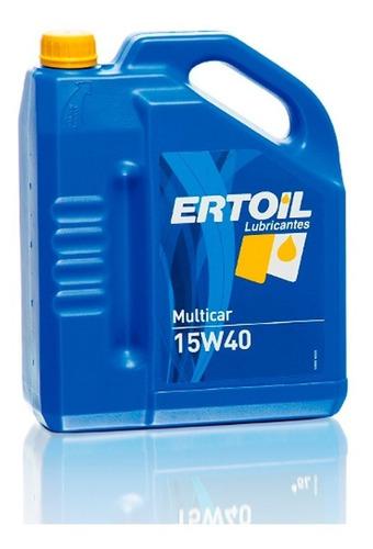 Lubricante Aceite Ertoil  15w40 4lts