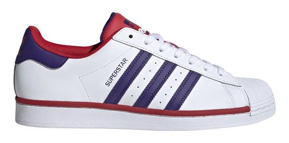 Zapatillas adidas Originals Moda Superstar Hombre Bl/vi