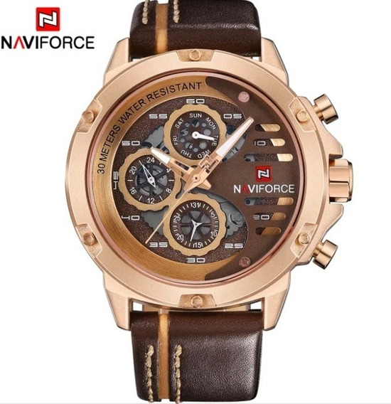 Relógio Naviforce Top De Luxo
