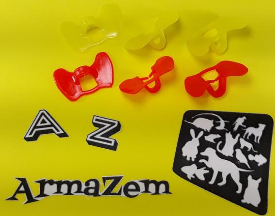 Kit 34 Óculos Anti-bicagem Para Galo - Galinha - Faizão