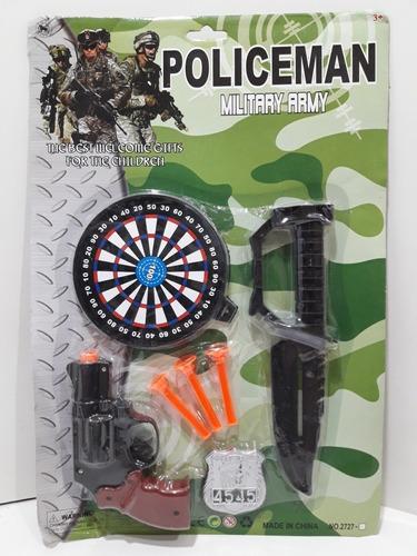 Set Militar Con Cuchillo