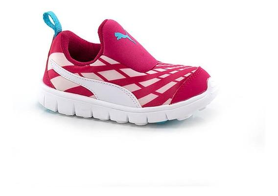 Tênis Puma Bao Slip On Pink - Infantil