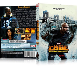 2 Box Luke Cage 2ª E 1ª Temporadas [ Marvel - Netflix ]