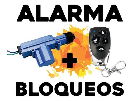 Alarma Para Auto Volumetrica + 4 Bloqueos Instalada