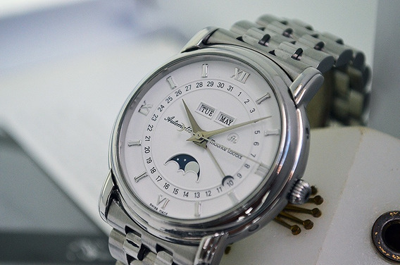 Maurice Lacroix Masterpiece Moonphase Triple Date - Lindo