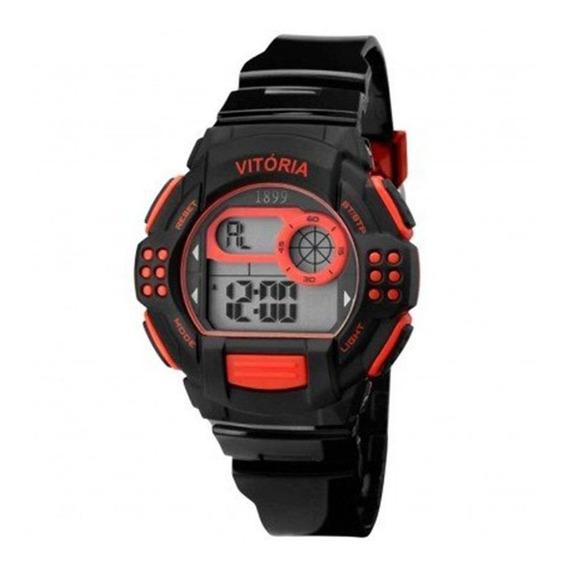 Relógio Technos Vitória Escudo Preto