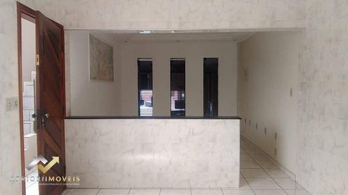 Imagem 1 de 10 de Casa Com 3 Dormitórios Para Alugar, 140 M² Por R$ 1.300,00/mês - Vila Helena - Santo André/sp - Ca0488