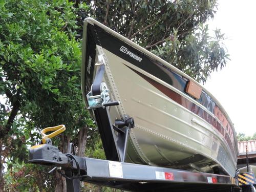 Barco De Alumino Bico Fino De 6 Metros Esporte Recreio