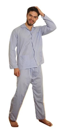 Pijama Hombre Liceo Para Policia Manga Larga Excelente