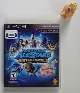 Playstation All Stars Battle Royale Ps3 * Mundo Abierto Vg *