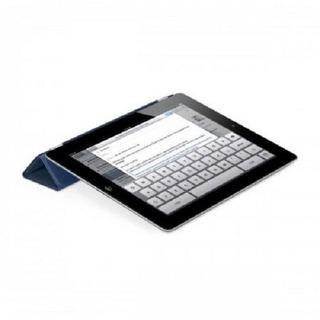 Smart Cover Para Apple iPad 2 Y 3 - Cuero - Azul Marino