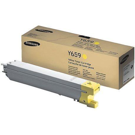 Toner Original Samsung Clt-y659s Yellow Clx-8640 8650 C/ Nfe