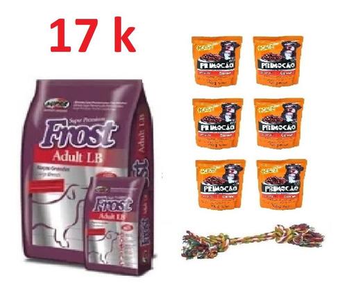 Imagen 1 de 1 de Frost Adulto Lb 17k + 6 Sachet + Cuerda + Envio Gratis