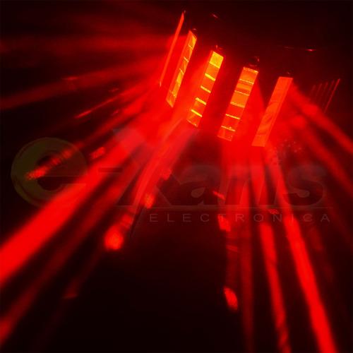 Luz Led Derby Petit Modos Secuencial Audioritmico Rgbw Xaris
