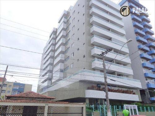 Apartamento Com 2 Dormitórios À Venda, 68 M² Por R$ 344.100,00 - Canto Do Forte - Praia Grande/sp - Ap2139