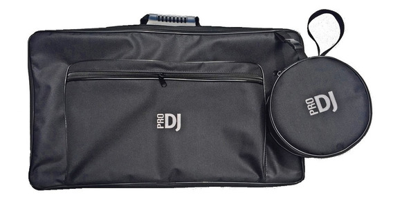 Bag Case Controladora Pioneer Ddj 400 C/ Fone Alça Mochila