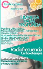Plasma Rico En Plaquetas, Radiofrecuencia, Carboxiterapia,