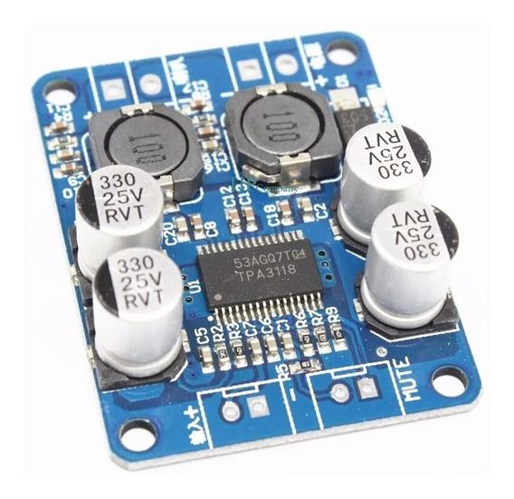 Amplificador Tpa 3118 Mono Classe D 12-24v 60w