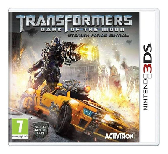 Transformers Dark Of The Moon Stealth Force 3ds Europeu