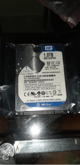 Hd Wd Blue 1tb Wd10spzx 2.5 Sata 5400rpm Notebook Slim