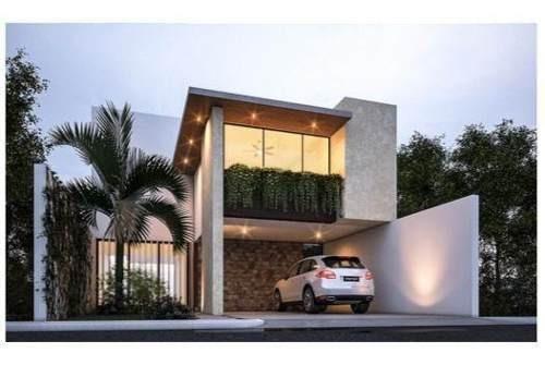 Casa Nueva En Privada Temozón Norte.