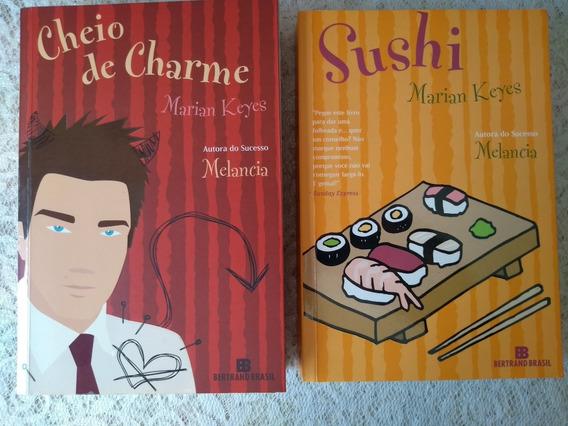 Sushi / Cheio De Charme Marian Keyes 2 Livros Por 35 Reais