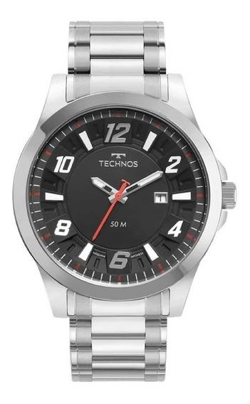 Relógio Technos Aço Esportivo Performance 2117ldf/1p Preto