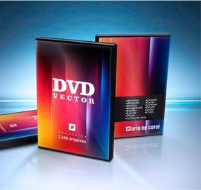 Dvd Com Mas De 5.500 Vetores Editaveis Para Corel Draw