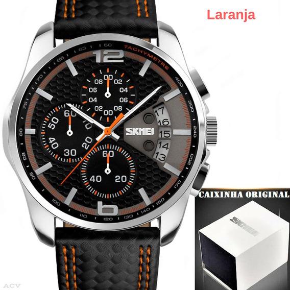 Relógio - Masculino - Skmei 9106 - Super - Promoção