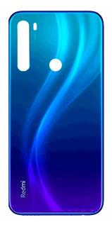 Tampa Traseira De Vidro Redmi Note 8 - Azul Netuno