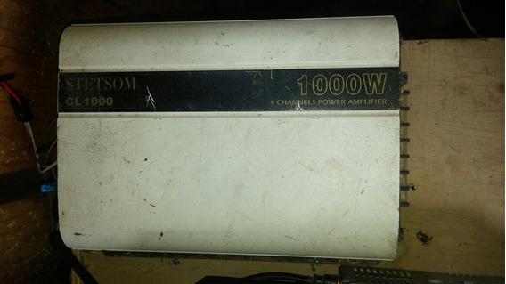 Auto Radio Pioneer Cd E Aux + Modulo Stetsom 1000w