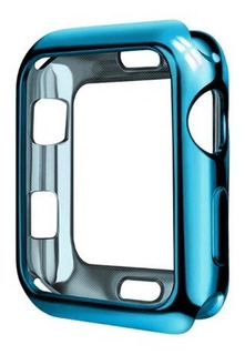 Capa Case Silicone Tpu Para Smartwatch Applewatch E Iwo 44mm