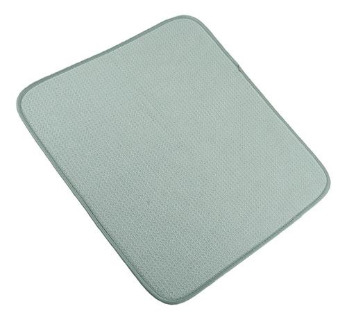 Imagen 1 de 3 de Tapete De Microfibra Esterilla Secadora Cocina Drainer
