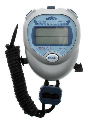 Cronometro Memoria 10 Lap Alarma Reloj Digital Deportivo
