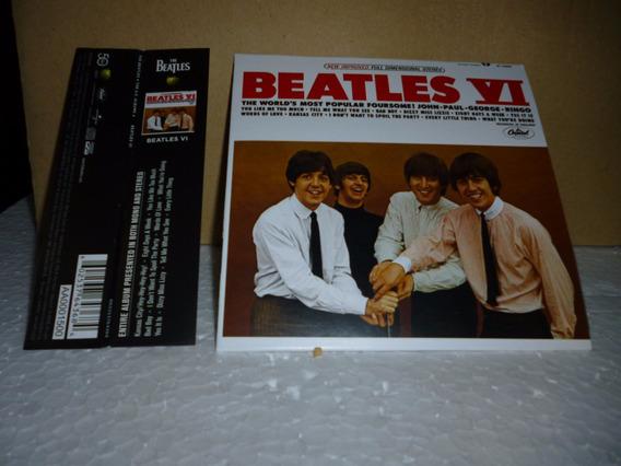 Cd Beatles - Beatles Iv 2014 - Tipo Minivinil Nacional