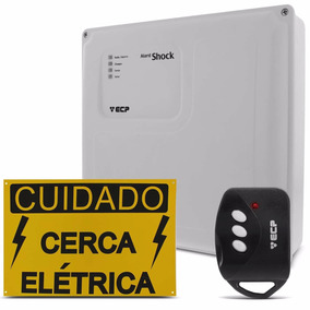 Cerca Eletrica Central De Alarme Ecp Alard Shock Protecao
