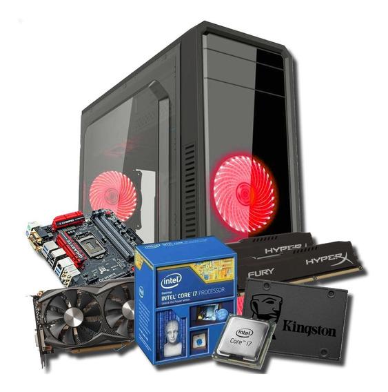 Computador Gamer I7 16gb Ram Ssd Hd Gtx 970 * À Vista 5.500