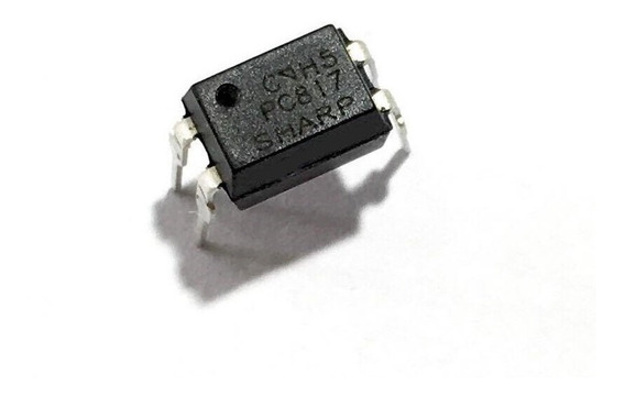 Pack X 10 Optoacoplador Pc817c Pc817 C817 Dip Nuevos