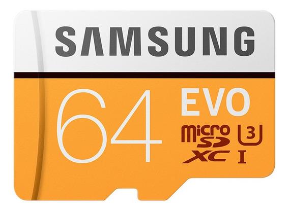 Cartão De Memória Samsung Micro Sc / Tf