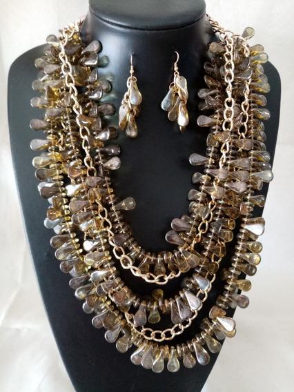 Collar De Auténtico Cristal Checo Zava Beads #2