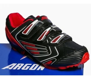 Sapatilha Argon Ciclismo Mtb Bike Ar 1521 C/ 3 Velcro