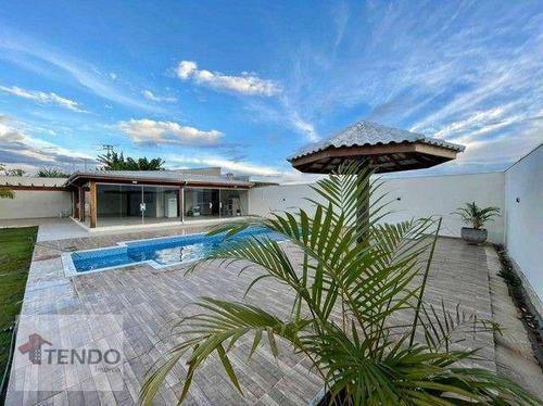 Imagem 1 de 15 de Imob02 - Chácara 1130 M² - Venda - 5 Dormitórios - 5 Suítes - Buru - Salto/sp - Ch0082