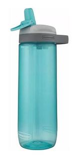 Squeeze Rubbermaid Tritan Newl Leak Proof Bico Canudo Azul 7