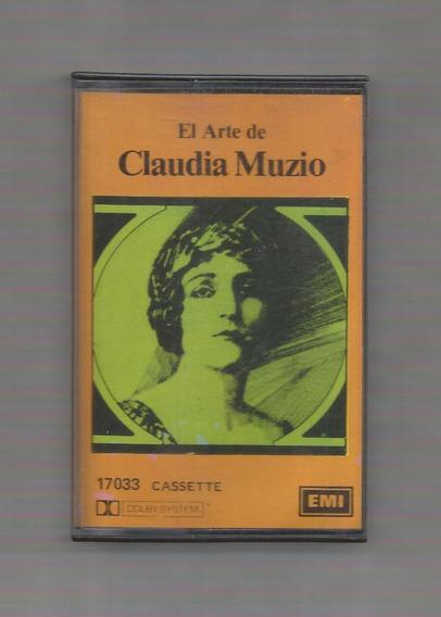 El Arte De Claudia Muzio Cassette Usado
