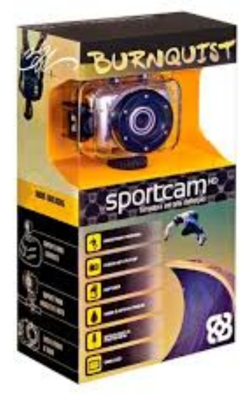 Filmadora Sportcam Hd Burnquist À Prova D´água