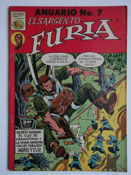El Sargento Furia Anuario # 7 La Prensa Marzo 1973