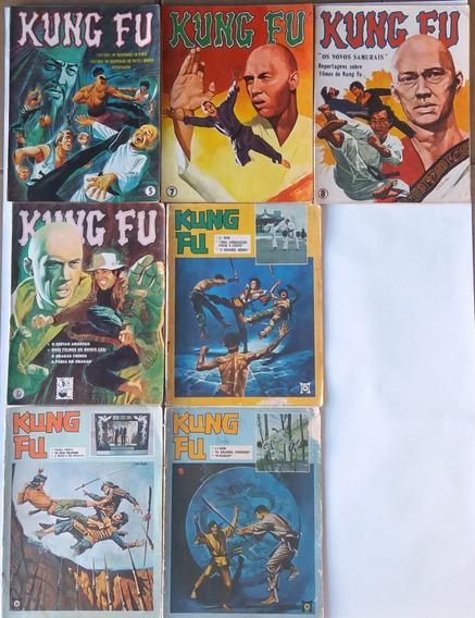 Kung Fu 1974 Ebal 07 Hq`s Gibi Revista Muito Raro E Antigo
