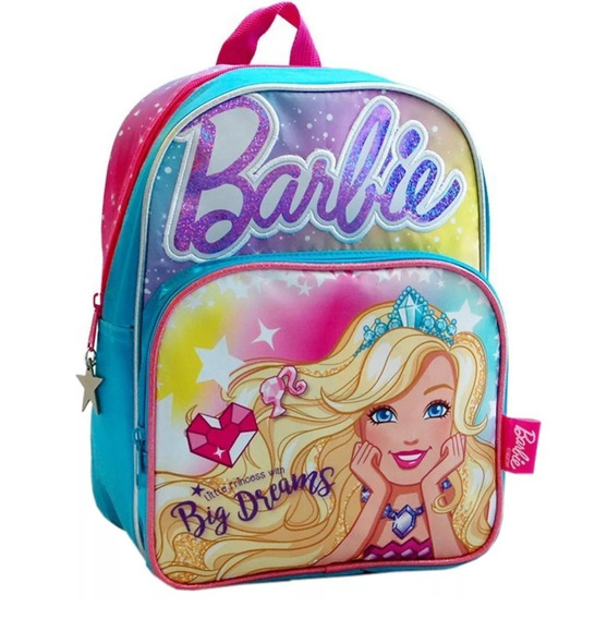 Mochila Barbie Espalda Con Luces Original Mattel