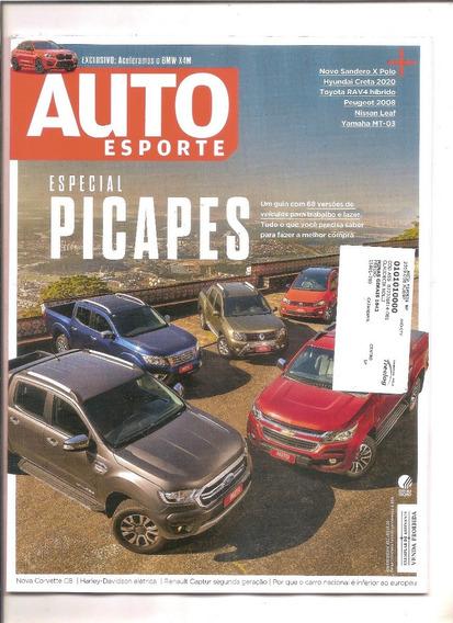 Revista Auto Esporte (ago/19) + Revista Edvd Motors (jun/15)